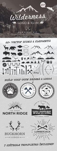 50+ Free Vintage Logo Badge & Insignia Templates on Behance
