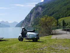 Lambretta 125 Special on tour in Switzerland