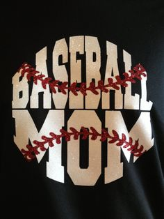 Glitter Baseball Mom Shirt by SweetTsCustomApparel on Etsy