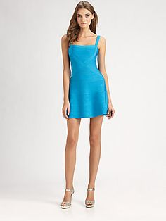 Herve Leger A-Line Dress