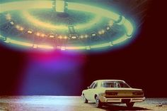 Find images and videos about car, alien and ufo on We Heart It - the app to get lost in what you love. Tantra, Cosmos, Alien Photos, Heaven Can Wait, Space Grunge, Trust, Alien Abduction, Aliens And Ufos, Alien Art