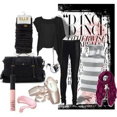 Black Swan, created by dingoesatemybaby on Polyvore