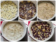 How delicious does this cranberry banana oatmeal bake look? via @Skinny Mom