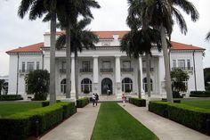 Florida - Palm Beach: Henry Morrison Flagler House, whitehall