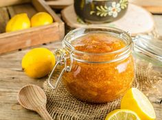 Lemon Jam That Helps Promote Health - Remedy Wonders Lemon Jam, Lemon Health Benefits, Health Remedies, Clean Eating, Homemade, Meals, Cooking, Tableware, Ethnic Recipes