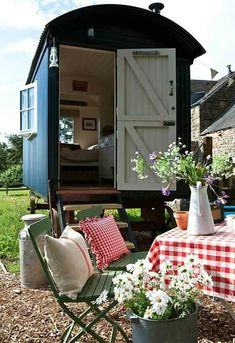 Amazing Shed Plans - - Now You Can Build ANY Shed In A Weekend Even If You've Zero Woodworking Experience! Start building amazing sheds the easier way with a collection of shed plans! Period Living, Shepherds Hut, She Sheds, Building A Shed, Tiny House Living, Shed Plans, House On Wheels, Little Houses, Play Houses
