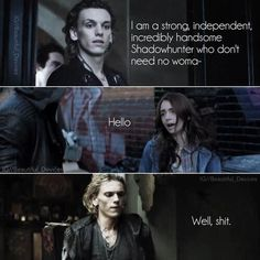 Jace & Clary, The Mortal Instruments