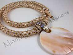 Beading Pattern - MOP Necklace - Tutorial