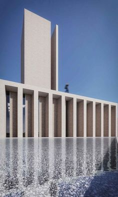 Gallery of Saffar Studio Seeks to Redefine the Iranian Mosque Typology - 10 Sacred Architecture, Monumental Architecture, Mosque Architecture, Public Architecture, Ancient Greek Architecture, Cultural Architecture, Religious Architecture, Contemporary Architecture, Architecture Details
