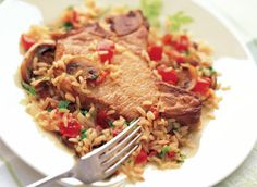 Pork Chops and Rice one-Pot Supper recipe | Dairy Goodness