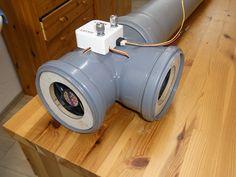 Luftwärmetauscher mit PC-Lüfter