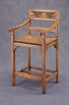 Fremarc Designs Country English Backless Bar Stool