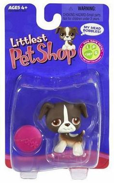 Littlest Pet Shop Single Pack Figure Brown Mutt with Pink Frisbee by Hasbro. $6.90. SINGLE PET PACK WITH ACCESSORY. SINGLE PET PACK