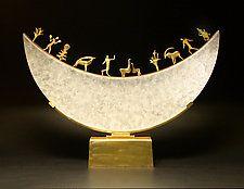 Art Glass & Bronze Sculpture by Georgia Pozycinski and Joseph Pozycinski