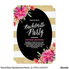 Find customizable bachelorette party invitations & announcements to share with the women you care about the most, right here at Zazzle! Glitter Wedding Invitations, Destination Wedding Invitations, Floral Wedding Invitations, Bridal Shower Invitations, Invites, Glitter Bachelorette Party, Bachelorette Party Invitations, Bachelorette Weekend, Sparkle Wedding