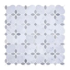Marble mosaic tile options are an excellent way to spruce up the look of your walls. Take a peek at our marble hexagon tile for the bathroom or kitchen at Marble Tile Bathroom, Mosaic Wall Tiles, Marble Mosaic, Stone Mosaic, Mosaic Glass, Mosaics, Tile Bathrooms, Tiling, Fireplace Facade