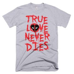Awesome Deadpool/Valentine T-Shirt via /r/TShirt... - Geek gifts