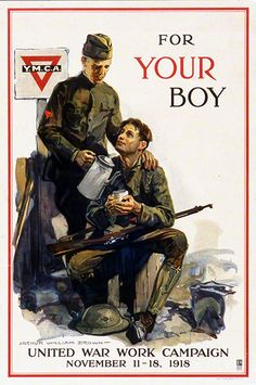 """""""For Your Boy"""" - This poster, and many others, is now on display in Cincinnati Museum Center's online exhibit, """"World War I Propaganda Posters."""" See more here: http://www.cincymuseum.org/exhibits/world-war-i-propaganda-posters This exhibit and the National Underground Railroad Freedom Center's Cincinnati Soldiers exhibit are presented as part of Cincinnati Remembers WWI, a citywide series of events commemorating the centenary of the First World War. #WWI #VintagePosters…"""