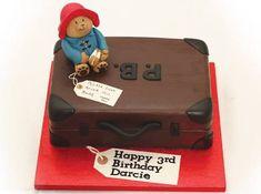 Image result for paddington bear birthday cake Second Birthday Cakes, Bear Birthday, 4th Birthday, Paddington Bear Party, Bear Cakes, Cake Creations, Beautiful Cakes, No Bake Cake, Kids Meals
