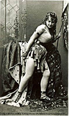 """Adah Isaacs Menken, once called """"the most dangerous woman in the world"""" just before the outbreak of the American Civil War. You can see why."""