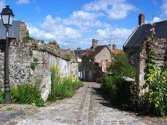 Saint Valery sur Somme : avec mon cheri bien sur !