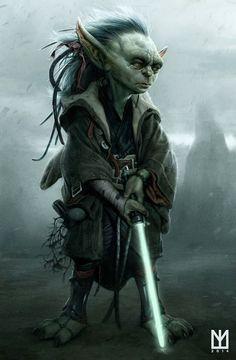 Young Yoda (by Fan)