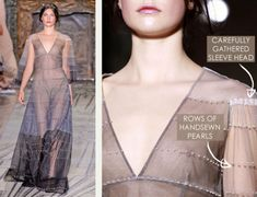 Delicate Details at Valentino Couture - The Cutting Class