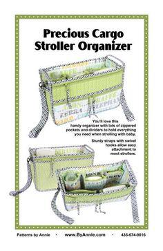 Precious Cargo Stroller Organizer pattern front cover