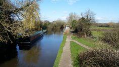 Basingstoke Canal Odiham England this morning. [OC] [5312x2988]