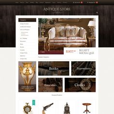 Antique Items Bootstrap WooCommerce Theme
