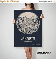 ON SALE JAKARTA Indonesia map Jakarta Jakarta map Jakarta