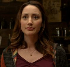 Bree Turner as Rosalee Calvert. Rosalee is a Fuchsbau and is in a relationship with Monroe.