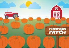 Image result for fall pumpkin patch vectors