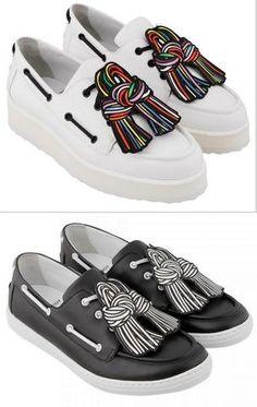 Pierre Hardy 'Scoubi Pop' Loafer - (White or Black)
