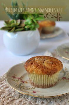 Muffins alla panna marmorizzati al caffè | Status mamma