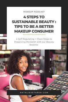 """There is a massive impact on the earth from hard-to-recycle cosmetic packaging, as well as ingredients in the products that aren't just harmful to the planet (particularly aquatic and marine life) but also to us! It really all comes down to self-regulation and making """"cleaner"""" choices can help preserve us and the earth. Easy Makeup Tutorial, Makeup Tutorial For Beginners, Skincare Packaging, Cosmetic Packaging, Gifts For Makeup Lovers, How To Wear Makeup, Power Of Makeup, Makeup Needs, Mascara Wands"""