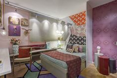 Quarto com mix de estampas