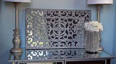 This is how I turned a doormat from Home Depot into this beautiful Pier 1 inspired wall art!