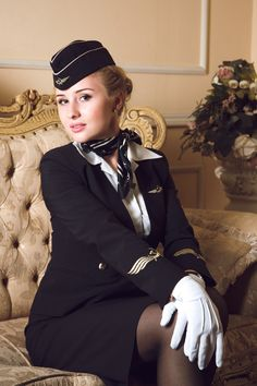 Beauty from heaven with wonderful stewardess Svetlana from Aeroflot. Special thanks to the Aeroflot Russian Airlines.