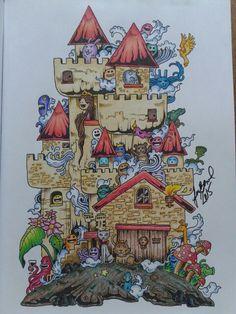 Doodle Invasion - Doodle A Invasão - by Juliana Bernal