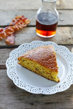Maple Bacon Skillet Cornbread is a great side. Perfect with a hot bowl of chili.