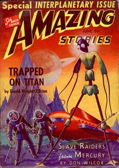 "Amazing Stories magazine - ""Special Interplanetary Issue"""