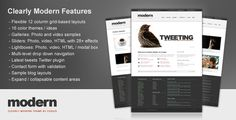 Now available as a WordPress theme – grab it today!    35 Pages of Sample Formatting!  Simply duplicate and edit the pages you want to add your content into!    Some of the many great features of Simply...