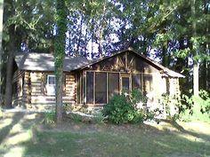 Farmville Vacation Rental - VRBO 320247 - 4 BR Central Virginia Cabin in VA, Slice of Heaven Log Cabin on Lake in the Woods Near Hampden Syd...