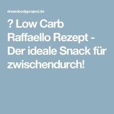 ᐅ Low Carb Raffaello Rezept - Der ideale Snack für zwischendurch!