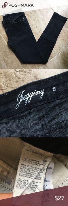 Black Tommy Hilfiger Jeans In excellent condition! Tommy Hilfiger Jeans Skinny