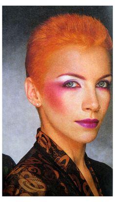 1980 Makeup, 80s Makeup Looks, Retro Makeup, Vintage Makeup, Annie Lennox, Glam Rock Makeup, Punk Makeup, Witch Makeup, Makeup Inspo