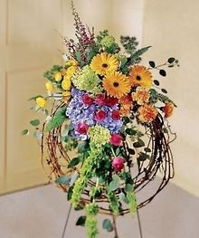 Unique Funeral Flowers | funeral flowers for men, sympathy flowers for men, funeral wreaths for ...