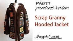 PA877 Scrap Granny Hooded Jacket - Hood Attachment Tutorial