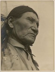 Sitting Bull son - Little Soldier aka Louie Sitting Bull - 1926